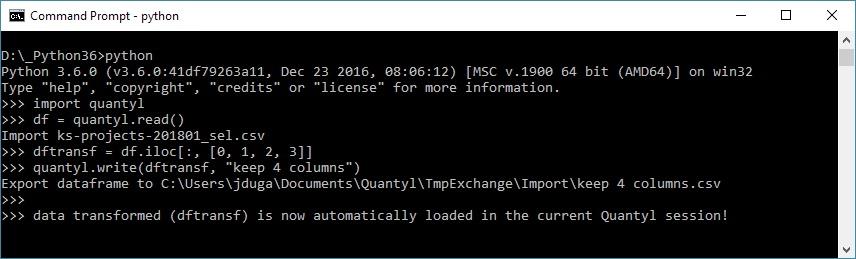 Quantyl Python API